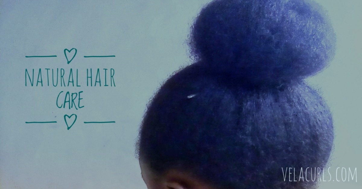 How to care for natural hair velacurls