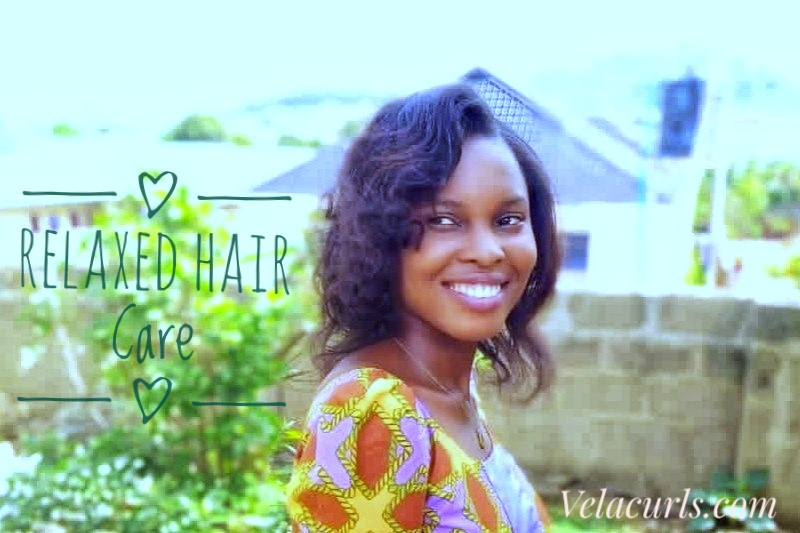 Relaxed hair care velacurls